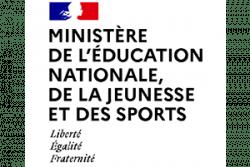 Logo Ministère de l'éducation nationale, de la jeunesse et des sports